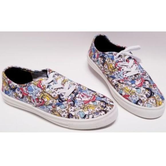 6da549dd40aed Disney Princess Women Lace Up Graphic Sneakers 7